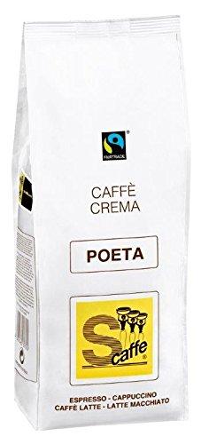 Schreyögg Caffè Crema - POETA - FAIRTRADE - 1000g Bohnen