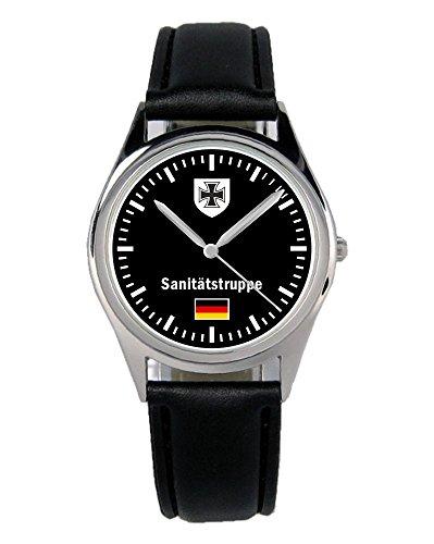 Soldat Geschenk Bundeswehr Artikel Sanitätstruppe Uhr B-1078