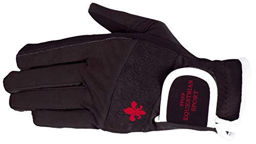 PFIFF Damen 101660 Damenreithandschuhe Handschuhe, Schwarz, M