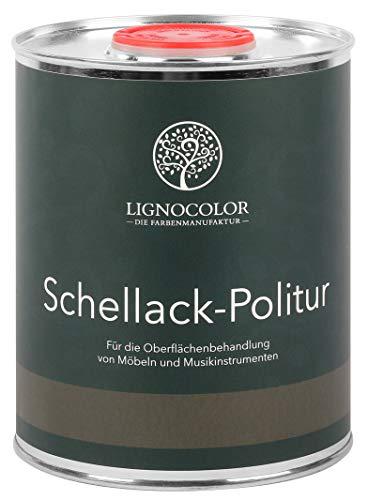Schellack Politur Möbellack Klavierlack 1L (Transparent)