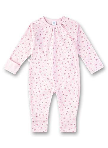 Sanetta Baby-Mädchen Overall Strampler, Rosa (Magnolie 3609), 68 (Herstellergröße: 068)