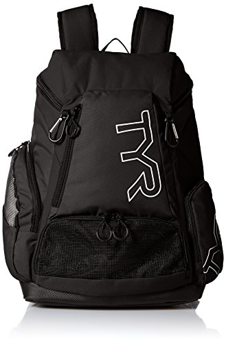TYR Alliance Backpack, Black/Black, 45 L