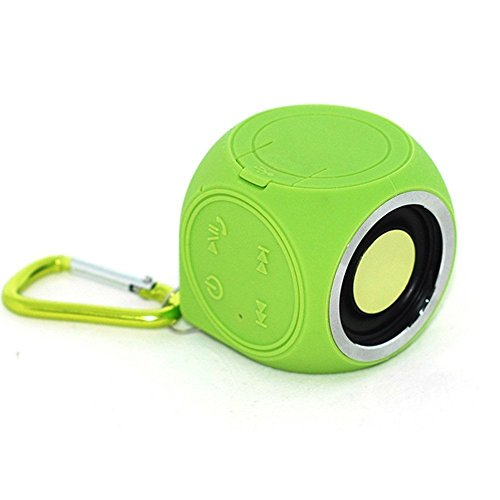 CHUKCHI Portable 100% Waterproof (IP67) Mini Cube Loud Bluetooth 4.0 Speaker by Pantheon Wireless, with Built-in Mini Microphone for iPhone Android and Other Bluetooth Music Playing Device