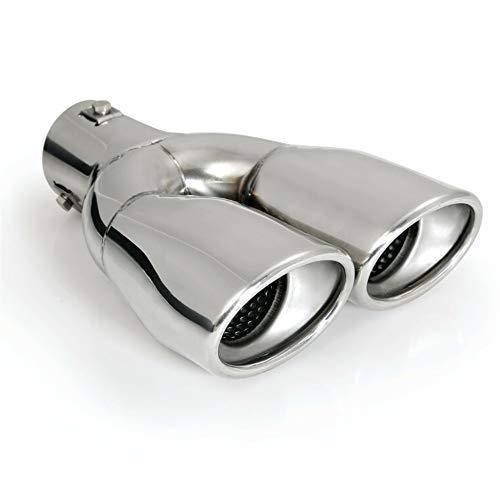 Akhan ER098 - Auspuffblende Endrohr Edelstahl poliert Sport-Sound D=32-50 mm