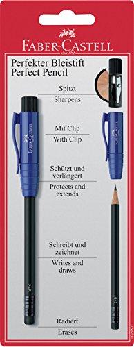 Faber Castell 182997 - Der Perfekte Bleistift II, rot/blau/schwarz