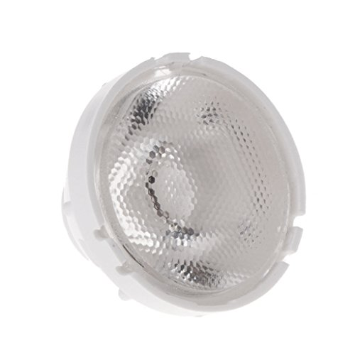 qiman 21mm High Power LED obiettivo riflettore collimatore 10/25/45/60gradi obiettivo riflettore