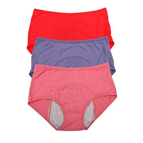 Bamboo Viscose Fiber Leakproof Panties | Amazon