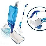 Maury's Spray Mop con Vaporizzatore Ricaricabile da 600 Ml E Panno in Microfibra Lavabile per Pulire A Secco Parquet Laminati Gres Legno Vinile
