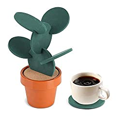 Housewarming-Gifts-for-Men-Cactus-Coaster