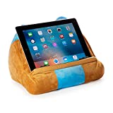 Cuddly Reader iPad Stand, Tablet Stand and Book Holder, Reading Pillow for Kids Children, Reading in Bed Travel, Soft Cushion Pillow, Gift eReader/Kindle/Smartphone Compatible (Owliver)