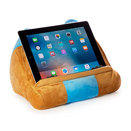 CuddlyReaders Buch iPad Tablet Halter Neuartig eReader Pause Sofa Kissen Ständer Geschenkidee - Eule
