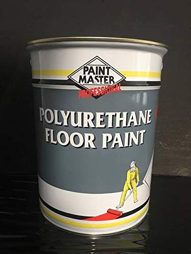 Floor Paint Paintmaster Polyurethane - 5 litres - Grey- Green- Red- Blue- White (Light Grey)