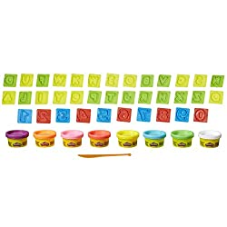 Play Doh Letters & Numbers