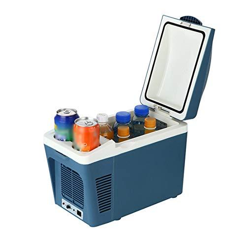 NCBH draagbare koelbox voor auto DC mini verwarmingsfunctie energiebesparend laag geluidsniveau koelkast geschikt voor thuis reizen Vacanze 7L