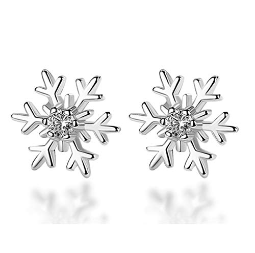(40% OFF) Sterling Silver Diamond Stud Earrings $2.98 Deal