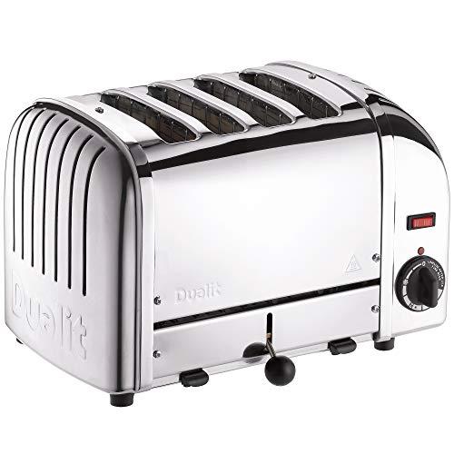 Dualit Edelstahl-Toaster, 4 Scheiben silber
