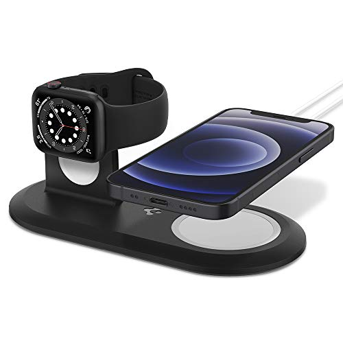 Spigen Mag Fit Duo Designed for MagSafe Charger Pad/Designed for Apple...