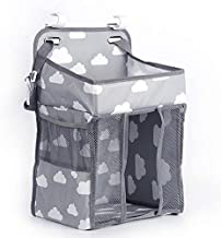 Hanging Diaper Caddy Organizer & Stacker- Nursery Organization & Baby Shower Gifts for Newborn