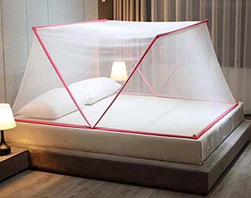 BBCZ Mosquitera plegable para cama de matrimonio, portátil, para tienda de campaña...
