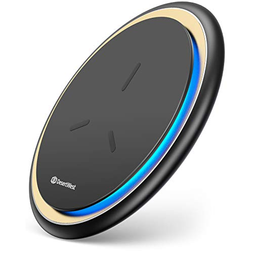 Wireless Charger Ladepad, Induktive Ladestation 2021 Upgraded Qi Induktions Ladegerät 15W Qi-Zertifiziert für iPhone 12/12 Pro/11/11 Pro/11 Pro Max/XS Max/XR/XS/X Samsung Galaxy S20/S10/S9/Note9 usw.
