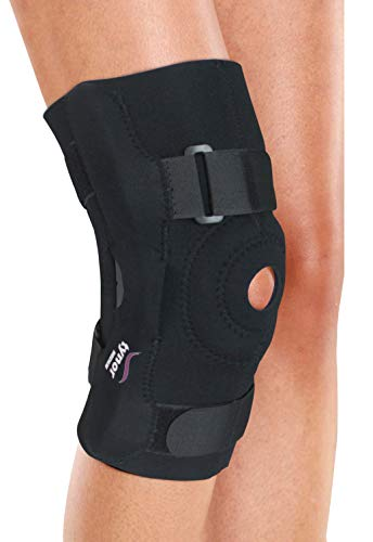 TYNOR Knee Wrap Hinged (Neo) Compression, Support, Pain Relief-Large