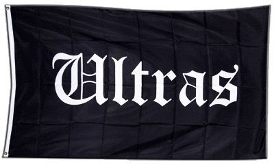 Fahne / Flagge Ultras + gratis Sticker, Flaggenfritze®