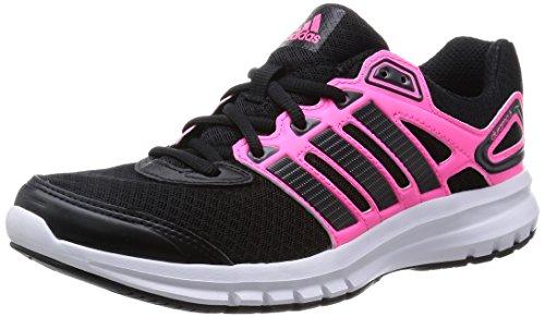 adidas Damen Duramo 6 Laufschuhe, Schwarz (Solar Pink/Core Black/Core Black), 37 1/3 EU