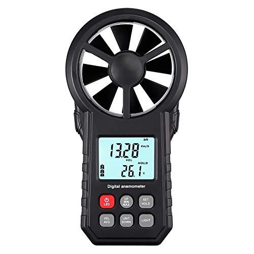 Anemómetro Digital Medidor de Velocidad...