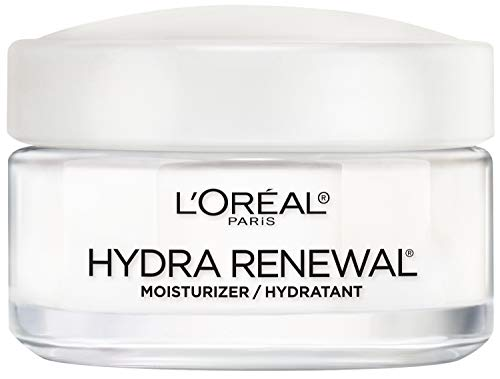 Face Moisturizer, LOreal Paris Skin Care Hydra-Renewal Moisturizer For Face with Pro-Vitamin B5 for Dry/Sensitive Skin, All-Day Hydration, 1.7 Oz