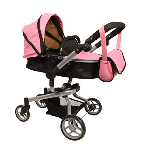 Mommy & me 2 in 1 Deluxe Leather doll stroller EXTRA TALL 32'' HIGH (view all photos) 9695