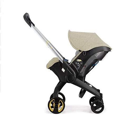 Witou Cochecito de bebé de Asiento para bebé 3 en 1 bebé recién Nacido Tipo de Cuna Asiento de Seguridad Cama de bebé Cesta de Carro, Silla de balanceo (Color : I)