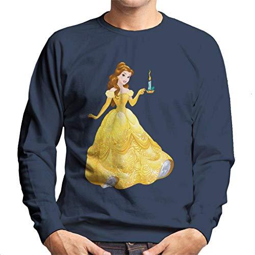 Disney Beauty en het Beest Belle Kaars Heren Sweatshirt