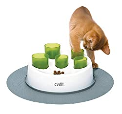 Catit senses 2.0 digger puzzle feeder for cats