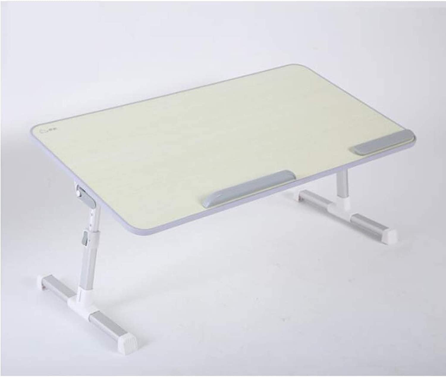 JSFQ Folding Table for Bed - Laptop Table - Height Can Be Raised and Lowered, 24-32cm, Simple Home Lazy Table Folding Table (color   C)