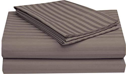 Best Buy! Linenwala 4 PC Bedding Sheet Set 6-10 Deep Pocket 400 TC 100% Cotton for RV- Trucks, Camp...