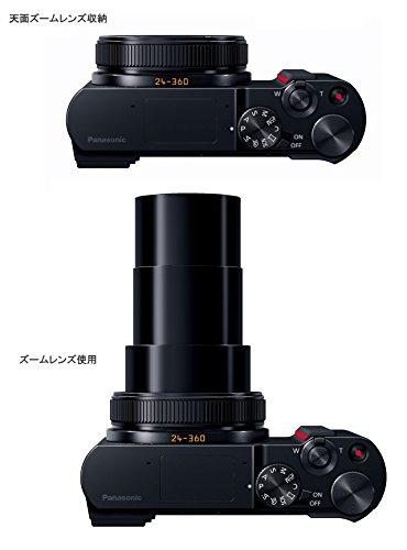 パナソニックコンパクトデジタルカメラルミックスTX2光学15倍ブラックDC-TX2-K