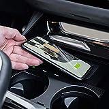 Cargador inalámbrico para coche de 15 W, cargador de teléfono QI, soporte para teléfono con panel de placa de carga rápida para BMW X3 G01 X4 G02 2018 2019 2020