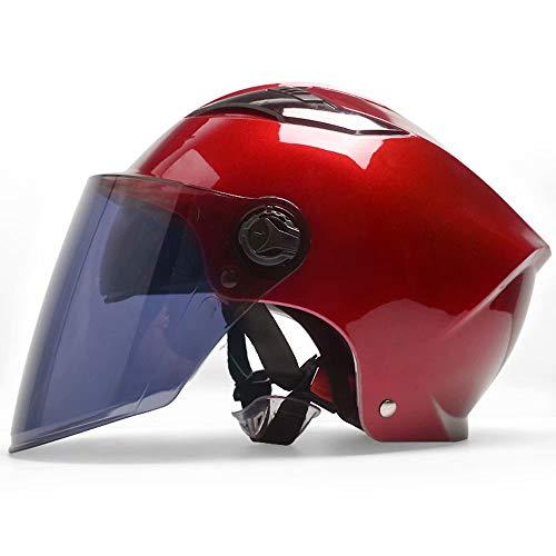 BJYX Cascos de Skate Casco de Bicicleta Casco de Deporte múltiple Casco Unisex para Adultos Equipo de Ciclismo Ligero 10.6 × 7.4 Pulgadas