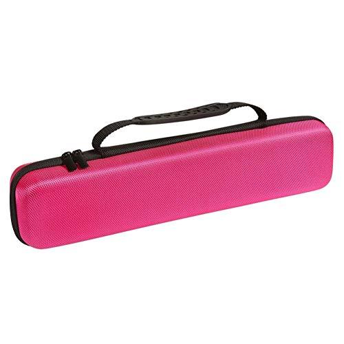 Lankater Estuche De Viaje Difícil para Plancha De Pelo Ghd Styler Oro V Classic (Accesorios No, Rojo Color De Rosa)