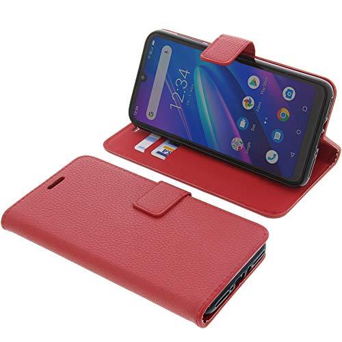 foto-kontor Tasche für Beafon M6 Book Style rot Schutz Hülle Buch