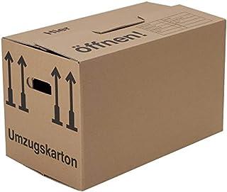 BB-Verpackungen 20 x Umzugskarton Profi 600 x 328 x 340 mm stabil 2-wellig aus recycelter Pappe - Sets zwischen 5 und 300 Stück