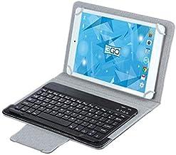 SSO) Funda Universal 10 Pulgadas con Teclado Bluetooth Negra 3GO