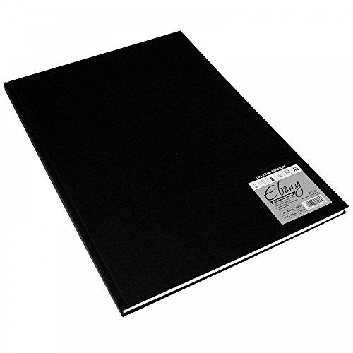 Daler-Rowney Skizzenbuch, A3, Hochformat, ebenholzfarben