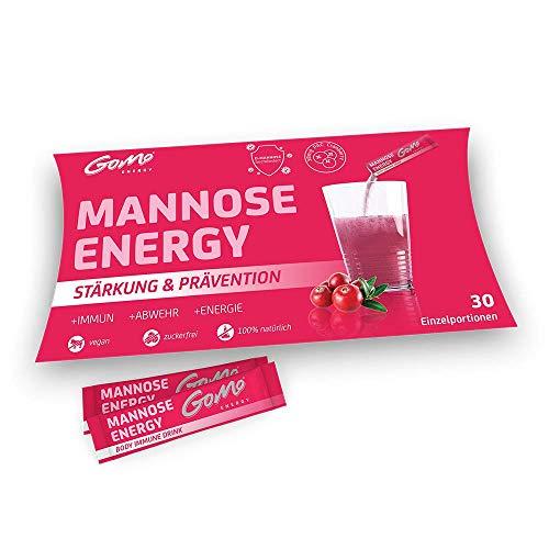D-Mannose und Cranberry Extrakt │ Kombinationsprodukt zur Unterstützung der Behandlung von Blasenentzündungen | Proanthocyanidine + Biotin + Zink + Selen + Vitamine | Mehr Schutz & Energie