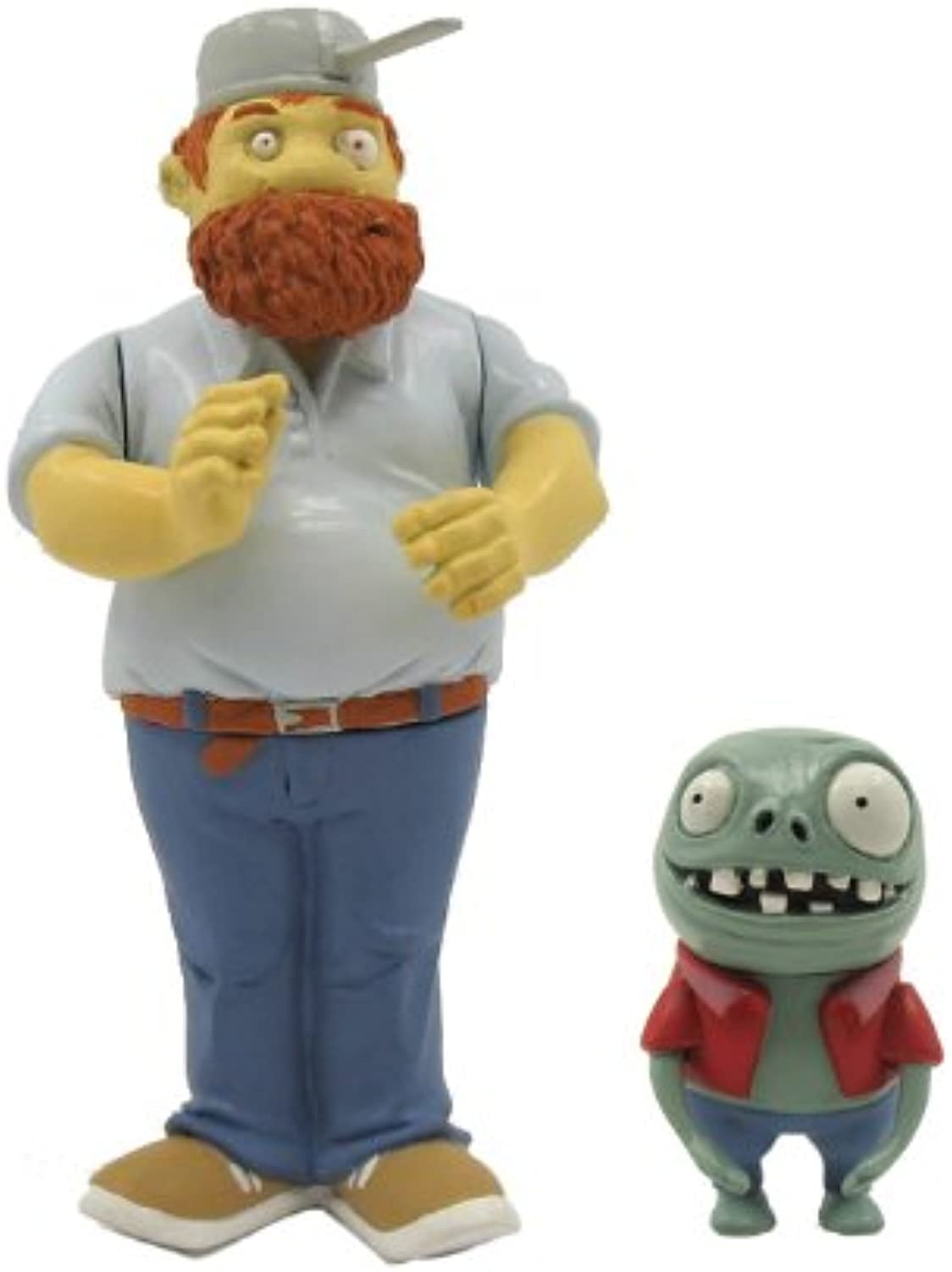 Plants vs Zombies Crazy Dave 3  Action Figure with Imp