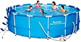 Sunton Swimming Pool Round Frame Above Ground Pool,Steel Frame Round Pool Set | Includes All You Need (12 Foot X 48 Inch)