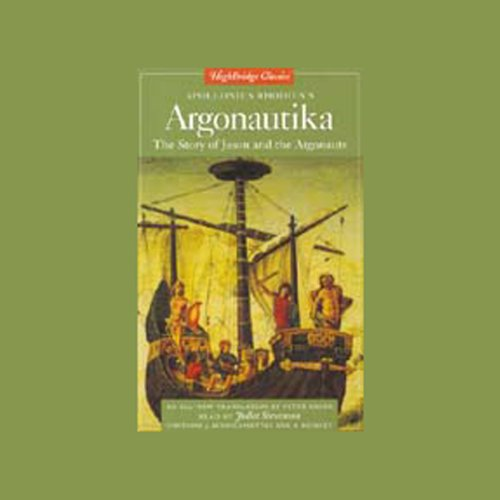 Argonautika audiobook cover art
