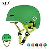 XJD Casque de Vélo pour Enfants Casque Réglable de Skateboard Anti-Choc Protection...