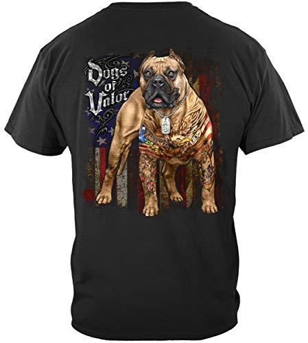 Dogs of Valor Pit Bull T Shirt MM2341L