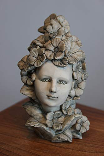 Unbekannt Hibiscus Figurine de jardin en résine à clipser Hauteur 12 cm